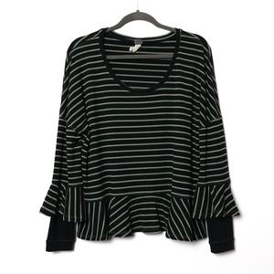 We the Free (People) | Striped Oversize Thermal S